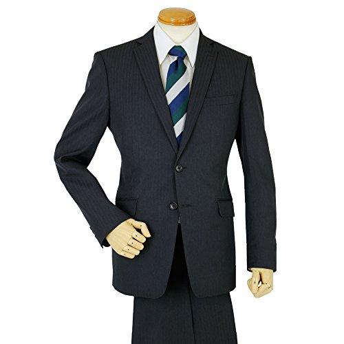 (ザイビックス)XYVYX スタイリッシュスーツ 2つボタン スリムモデル Y(細身)4 E.チャコール/シャドーストライプ
