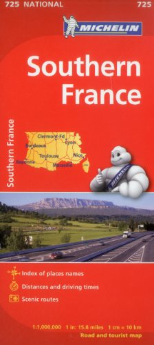 France, South Map 725 (Maps/Country (Michelin))