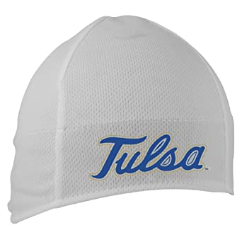 NCAA Tulsa Golden Hurricane Midcap High Performance Beanie, White by Headsweats