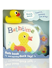 Duck Bath Squirter Book