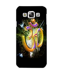 SAMSUNG GALAXY E5 OM Back Cover by PRINTSWAG