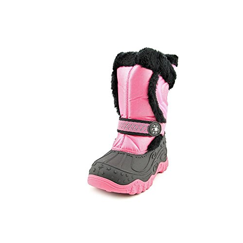 Stride Rite Little Kid/Big Kid Snowcat Boot,Pink/Black,2 M Us Little Kid