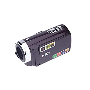 "Andoer HDV-501ST 3.0"" LCD Touch Screen Digital Video Camera with 1080P Full HD 20MP Interpolation 16x Zoom Camcorder"