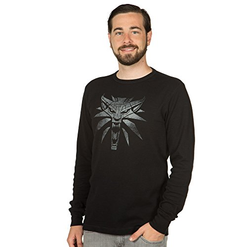The Witcher 3 White Wolf Men's Thermal Black/Black Large