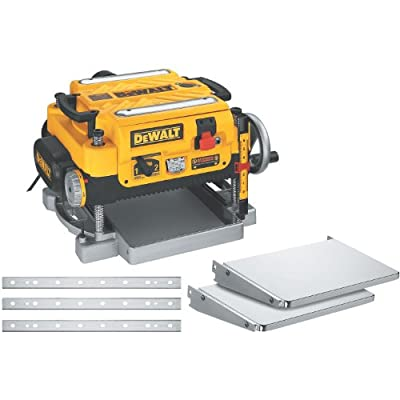 DEWALT DW735X 13-Inch, Two Speed Thickness Planer with Tables and Extra Knives