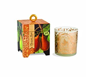 Michel Design Works 6-1/2-Ounce Gift Boxed Soy Wax Candle, Tuscan Pear