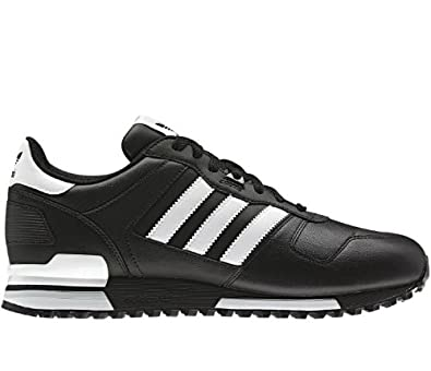 Adidas Originals Men's ZX 700 Comp Black White Leather