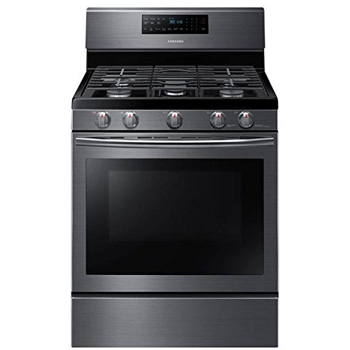 Samsung-Appliance-NX58J5600SG-30-Freestanding-Gas-Range-with-58-cu-ft-Convection-Oven-in-Stainless-Steel