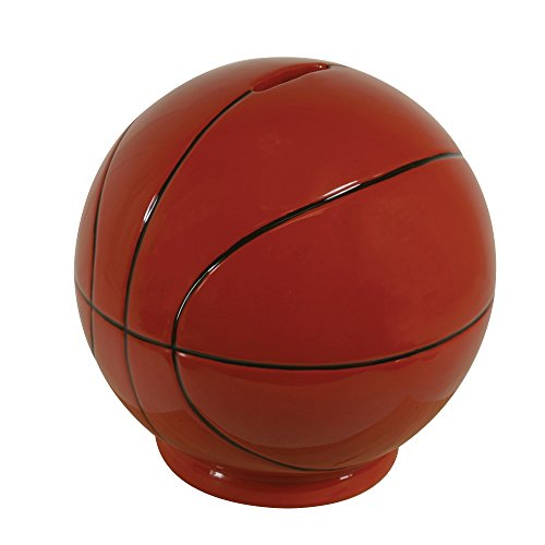 Stephan Baby Sports Fun Collection Ceramic Bank, Basketball