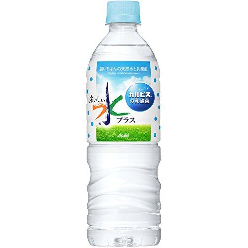 アサヒ おいしい水プラス カルピスの乳酸菌 600ml×24本