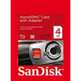 Sandisk Micro SD 4096Mb Memory Card Only microSD 4GB 4 GBby SanDisk