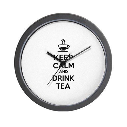 Cafepress Keep Calm And Drink Tea Wall Clock