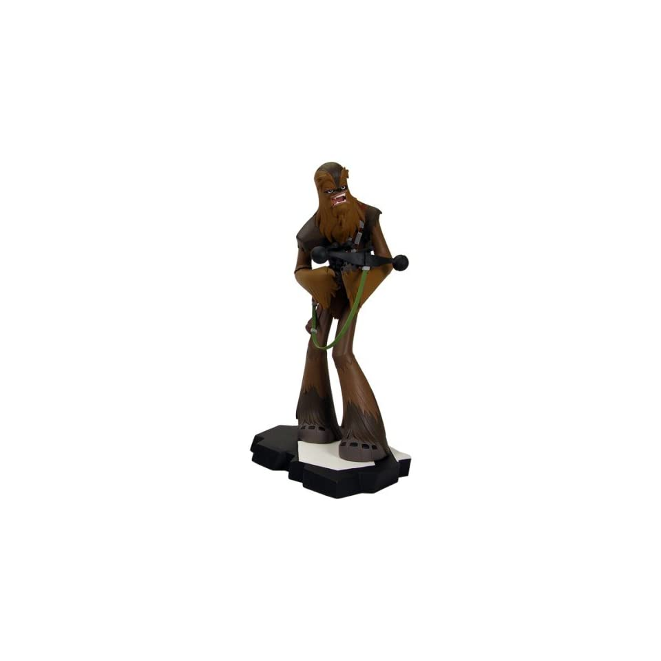 Star Wars Gentle Giant 8.5 Inch Maquette Statue Clone Wars Style Chewbacca