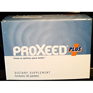 Proxeed-Plus Male fertility Supplement-1 box (30 packets, 15 days supply) - optimize sperm health, and that they can improve sperm count and motility, sperm speed, and sperm concentration