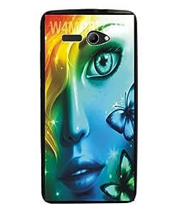 Techno Gadgets Back Cover for Lava Iris Atom 2