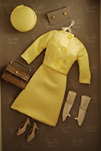 The Jackie Kennedy Doll - Vive Jacqui! Yellow Suit Dress by Franklin Mint