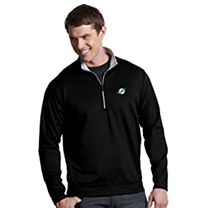 NFL Miami Dolphins Mens Leader Pullover by Antigua