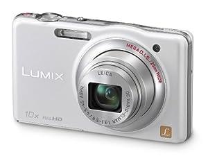 Panasonic Lumix SZ7 14.1 MP High Sensitivity MOS Digital Camera with 10x Optical Zoom (White)