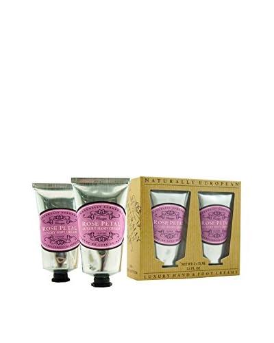 Naturally European Hand & Foot Cream Set, Rose Petal