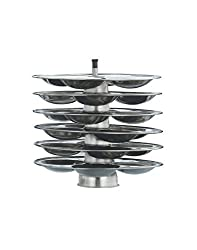 Anantha Stainless steel Idli stand, 6 Plates