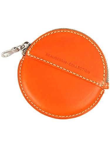 [ボーデッサン] BEAU DESSIN S.A. コインケース 小銭入れ VT1279 BUTTERO ブッテーロシリーズ オレンジ BD-VT1279-OR