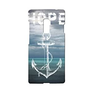 BLUEDIO Designer 3D Printed Back case cover for Oneplus 2 / Oneplus Two - G5666