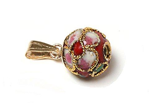 peninsula-jewellery-kettenanhanger-9-karat-375-gold-kugelschreiber-orientalischer-stil-emaille-rot