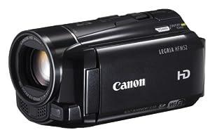 Canon LEGRIA HF M52 Full-HD Camcorder (HD-CMOS PRO Sensor,7,6 cm (3 Zoll) Toch-LCD, 10-fach opt. Zoom, 32GB Flashspeicher + SDXC-Kartenslot, WiFi, Intelligent IS) schwarz