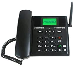Visiontek 21G Corded Phone (Black)