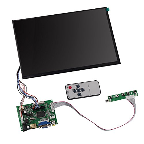 Sale!! Tontec® 10.1 Inches 1280x800 IPS Raspberry Pi Screen Display LCD TFT Monitor with Remote, Dr...