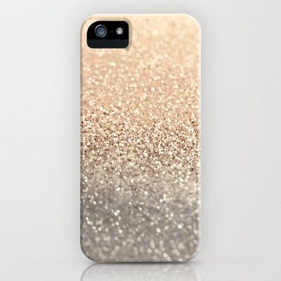 society6(ソサエティシックス) iPhone5/5sケースギャツビーゴールド GOLD by Monika Strigel 並行輸入品