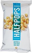 Halfpops Popcorn - Butter and Pure Ocean Sea Salt - 2 oz
