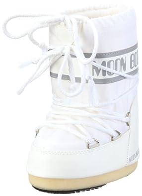 Tecnica 14004400 Womens Moon Boot Classic Nylon Winter Boot,White,41