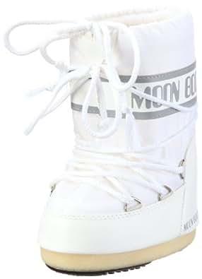 Moon Boot Nylon, Boots mixte adulte - Blanc (Bianco), 23-26 EU