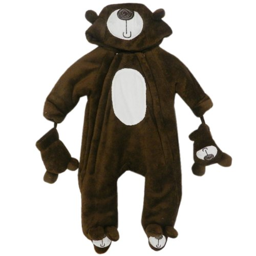 Baby Bear Microplush Snowsuit For Toddlers 12-18 Months front-147761