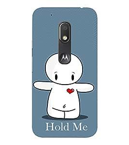 EPICCASE Hold Me Mobile Back Case Cover For Moto Play (Designer Case)