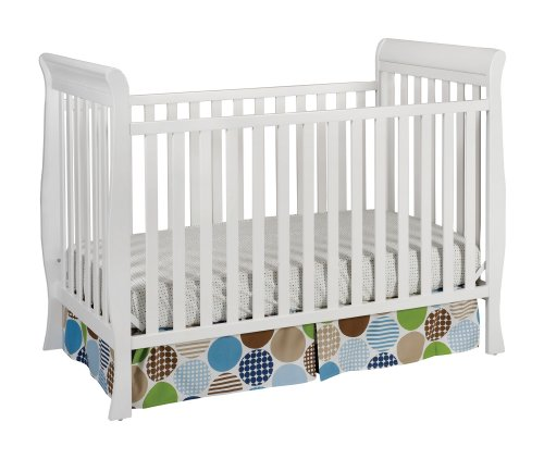Delta Children Products Winter Park 3-In-1 Convertible Crib, White