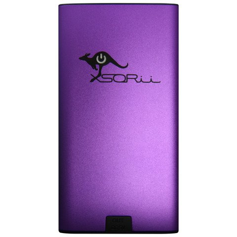 6000 mAh PowerBar Portable Charger Purple Photo