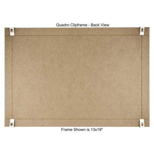 quadro clip frame 13 215 19 inch borderless frame classic