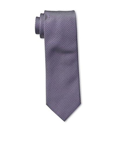 Ermenegildo Zegna Men's Dotted Tie, Violet