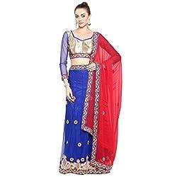 Triveni Net Lehenga Choli (TSSF9455_Blue)