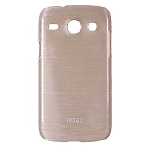 iCandy Hard PC Shiny Back Cover For Samsung Galaxy Core S8262 - Golden