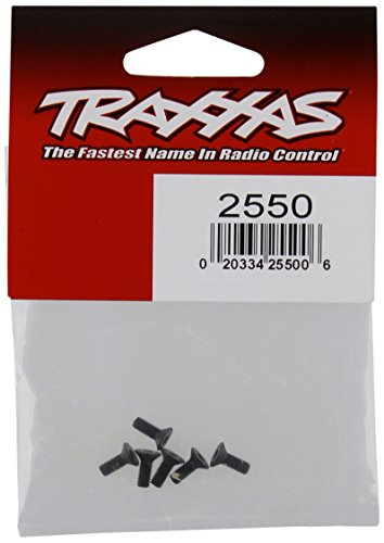 Traxxas 2550 Countersunk Hex Screw, 3 x 8mm (6)