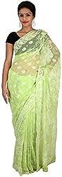 Kailash Chikans Women's Chiffon Saree