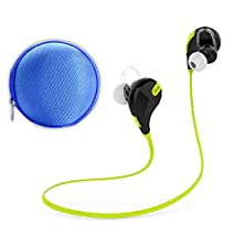 buy First2Savvv Qcy Qy7 Jjejb11 Lightweight Wireless Stereo Sports/Running & Gym/Exercise Bluetooth 4.1 Earbuds Headphones Headsets W/Microphone Mic For Sony Xperia Z E L Sp Zr M Z Ultra Z1 E1 Z1 Compact Z2 M2 T3 Z3 M Dual Xperia M2 Aqua Z3 Compact E3 T2 Ultr