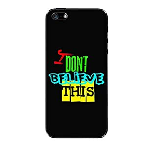 Vibhar printed case back cover for Apple iPhone 6s BilieveThis