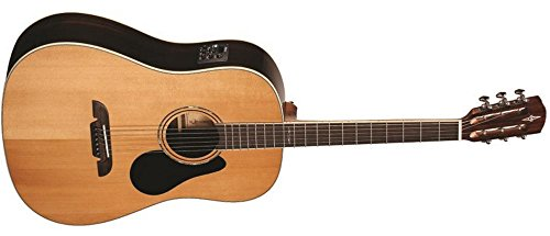 Alvarez Ard70E Artist 70 Series Sloped Shouldered Dreadnought Acoustic-Electric Guitar