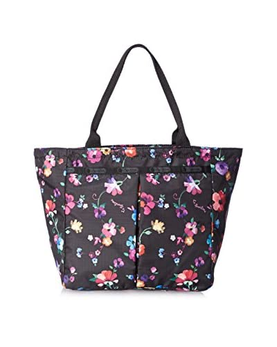 LeSportsac Women's Small Everygirl Tote, Impressionist Flower