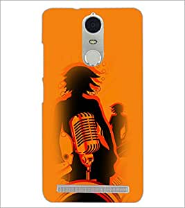 PrintDhaba Music D-4956 Back Case Cover for LENOVO K5 NOTE (Multi-Coloured)