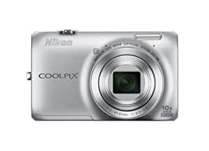 Nikon COOLPIX S6300 16 MP Digital Camera with 10x Zoom NIKKOR Glass Lens and Full HD 1080p Video (Silver)
